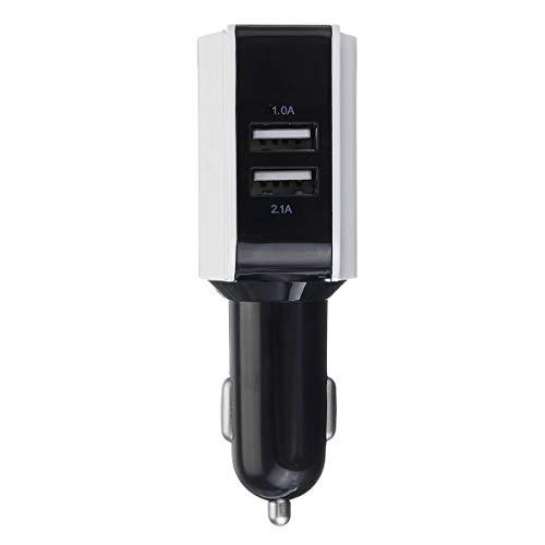 LICHONGUI Adaptador de Cargador de Coche Dual Dual USB 1 UNID LED Pantalla de Carga rápida para el teléfono Pad GPS 3.1A