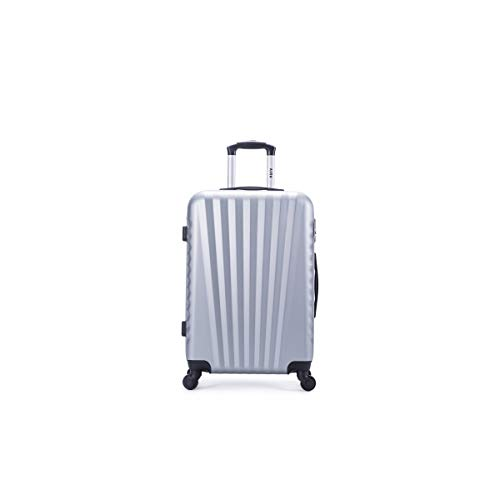 air-v BAGAGES, Valigia Argento argento Large