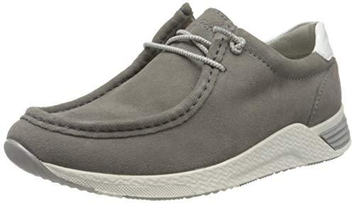 Sioux Damen Grash-D192-59 Sneaker, Grau (Piombo/Weiss 002), 38 EU