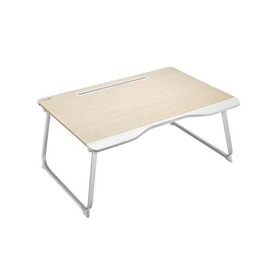 MSF Table pliante Ordinateur portable Table College Dortoir Lit Avec Multi-fonction Pliable D'écriture Petite Table Enfants À Domicile Apprendre à Manger Bureau Mini Simple Assemblage Sans Petite Tabl