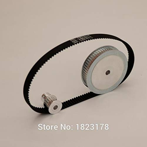 Omaha specialty shop Mall Fevas Aluminum Timing Pulley HTD 60teeth Reduction 4: 3M 15teeth