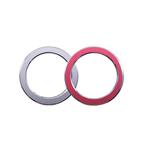 zzwllong Arranque con un Solo botón, Encendido del Coche, Motor, Arranque, Parada, botón pulsador, Interruptor, Anillo, Pegatina de Cubierta, para BMW E90 E92 E93 3 Series 320 325i 335i