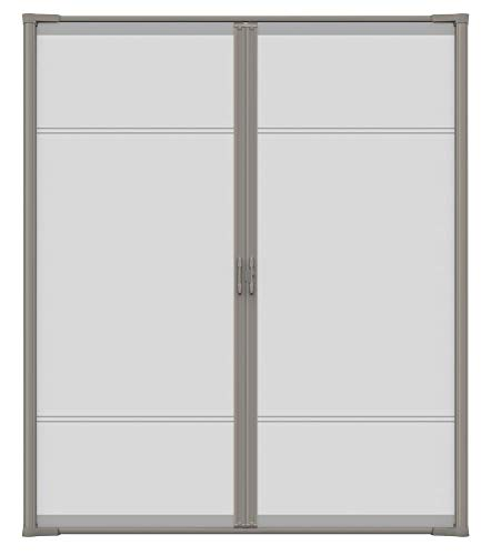 "Brisa Sandstone Retractable Screen Door 80"" Double"