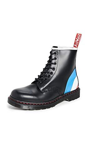 Dr. Martens Men's 1460 Classic Boot (13 M UK, Black Target Smooth)