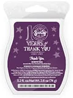 Scentsy Bar: Thank You