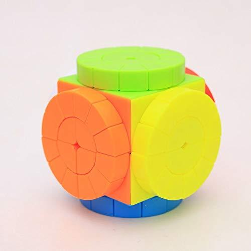 Khosd Mirror Cube Cubo Mágico Inteligencia Mágico Cubo De La Velocidad Juego De Puzzle Cube Speed Magic Cube Stickerless