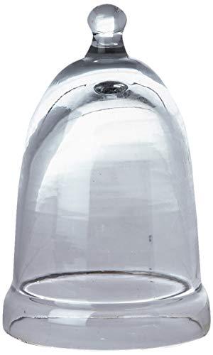Better & Best Cristal Fanal para huevera Muy pequeño, Medidas 6,5x6,5x10 cm, Material, Talla única