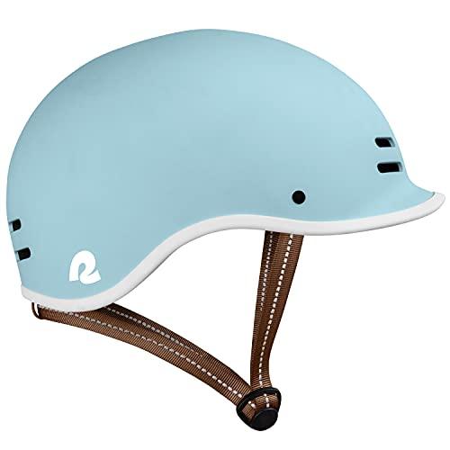 Retrospec Remi Adult Bike Helmet for Men & Women - Bicycle Helmet for Commuting, Road Biking, Skating, Matte Cool Mint, Small 54-57cm