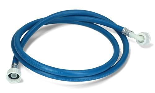 DL-pro Manguera de entrada de agua de 2 m, 3/4 pulgadas, recta/ángulo de 90 grados, manguera para lavadora y lavavajillas