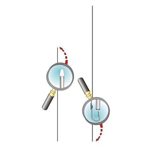 Stonfo art. 550- Juego de agujas para pescar de 200mm y 0,8mm de diámetro, con cabeza blanca