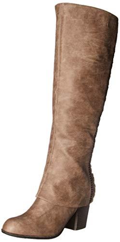 Fergalicious Women's Tender Knee High Boot, doe, 11 M US