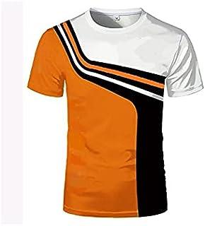 Wanxiaoyyyinnsdx Mens Henley Short Sleeve, Summer New Outdoor Bicycle Men's T-shirt New Top Short Shirt Sports Fitness Sho...