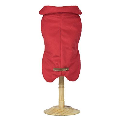 Capa Fur - Vermelho - Ex (Pesc 46 X Peit 64 X Comp 50Cm)