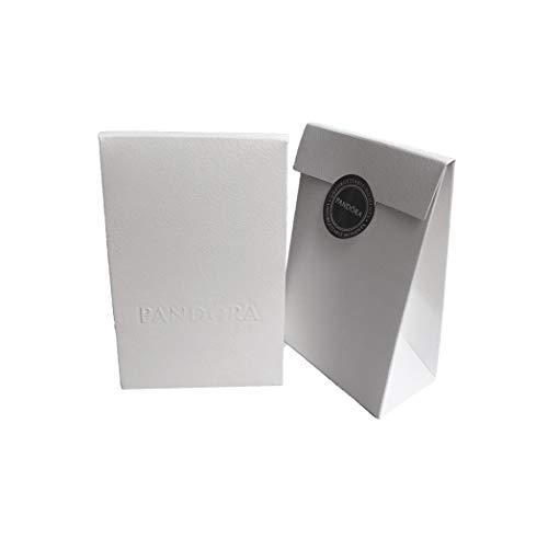 PANDORA Pack-Envoltorio para Abalorio Bolsa y Lazito Rosa