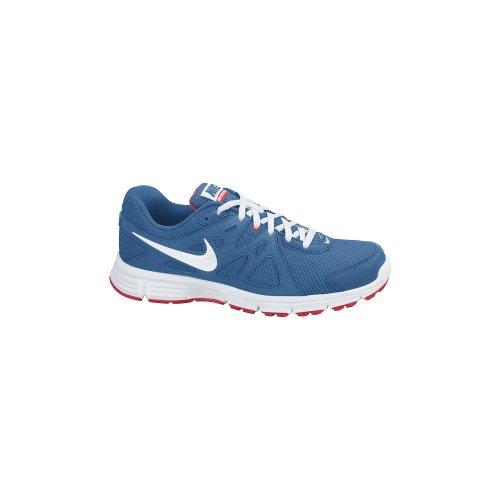 Nike Running Revolution 2 Lgb, Zapatillas niño, Azul/Blanco, 35.5