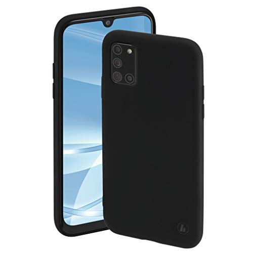 Preisvergleich Produktbild Hama Finest Feel Cover Samsung Galaxy A31 Schwarz