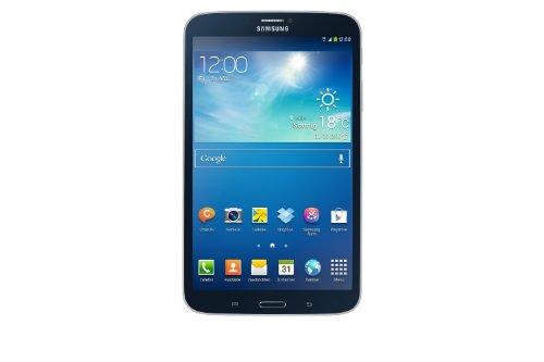 Samsung Galaxy Tab 3 20,3 cm (8 Zoll) Tablet (Dual-Core, 1,5GHz, 1,5GB RAM, 16GB interner Speicher, 5 Megapixel Kamera, 3G, WiFi, Android 4.2) schwarz