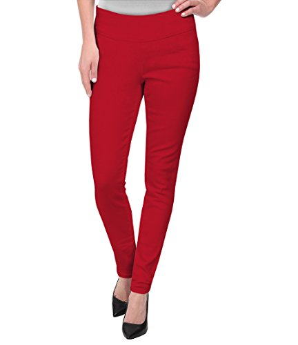 Hybrid & Company Super Comfy Stretch Pull On Millenium Pants KP44972 Red Large