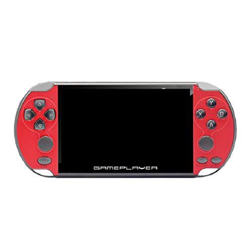 X7 Plus 5,1 Zoll LCD Spielmaschine Double Rocker Handheld Retro Spielkonsole