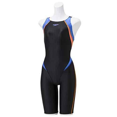 Speedo(スピード) 競泳水着 FLEX ΣII Semi Openback Kneeskin フレックスシグマツーセミオープンバックニースキン 水泳 レディース SCW11910F ボンダイブルー S