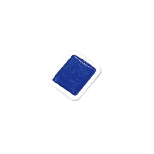 Prang Refill Pans for Half Pan Watercolor Paint Sets, 12 Pans Per Box, Blue (08005)