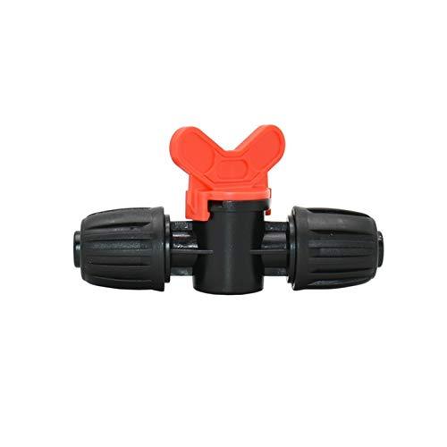NEBSM 3pcs Manguera de jardín 3/8'1/2' Garden Tap 8 / 1116mm Válvula de Agua de irrigación de la Manguera con Tuerca de Bloqueo DN10 DN15 Conectores de Agua Jardinería Riego (Color : 16MM)