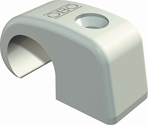 OBO Bettermann SISTEMA CONEX.FIJ OBO ISO-Nagelschelle 4032 16-20mm lichtgrau ohne Nagel, 1x 100 Stück