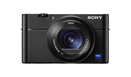 Sony RX100 V Fotocamera Digitale Compatta, Sensore da 1.0'', Ottica 24-70 mm F1.8-2.8 Zeiss, Video 4K HDR e Schermo LCD Regolabile