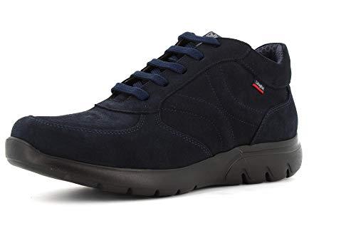Callaghan Zapatos Hombres Zapatillas Alto 14006 Azul Talla 45 Azul