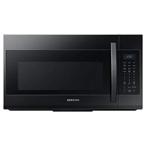 Samsung ME19R7041FB 1.9 Cu.Ft. Black Over The Range Microwave