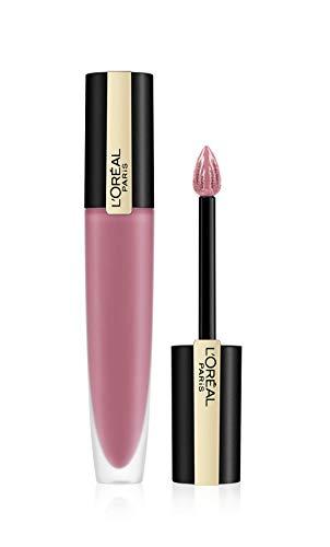 L'Oréal Paris Rouge Signature 105 I Rule, ultra-leichter und hochpigmentierter matter Ink-Lippenstift