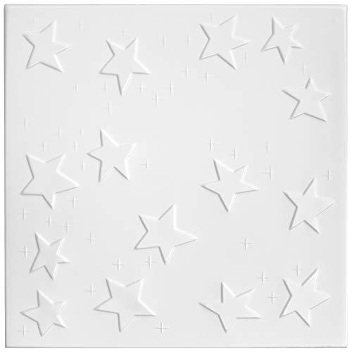 Paquet D'Économies Plaques Aspect Homedesign Design D'Intérieur 50x50cm, Nr.66-10 M ²/40 Plaques