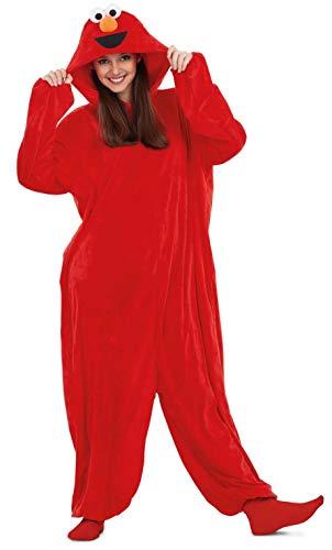Barrio Ssamo Disfraz Pijama de Elmo para Adultos