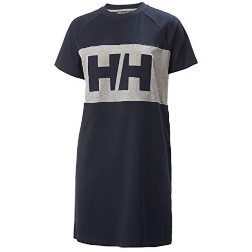 Helly Hansen Damen Active Dress T-Shirt Kleid, Navy, S
