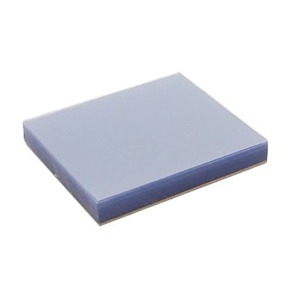 複製するパフ楽しむ(ロータス)LOTUS 練板紙 PVC 100枚×3冊入 (ネイルパレット ミキシングペーパー プラスチック素材 底面滑り止め付)