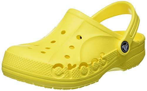 Crocs Baya Clog K, Sabots Garçon Unisex Kinder, Lemon, 19/20 EU