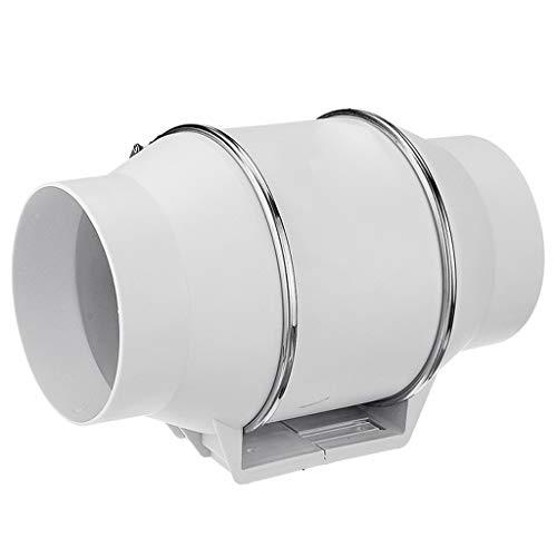 Ventilador de ventilación doméstico Extractor De 4 Pulgadas, Pared De La Ventana WC Presión Montable Boost Ventilador Ventilador Baño De Eliminación De Aire De La Cocina De Limpieza Ventilar LITING