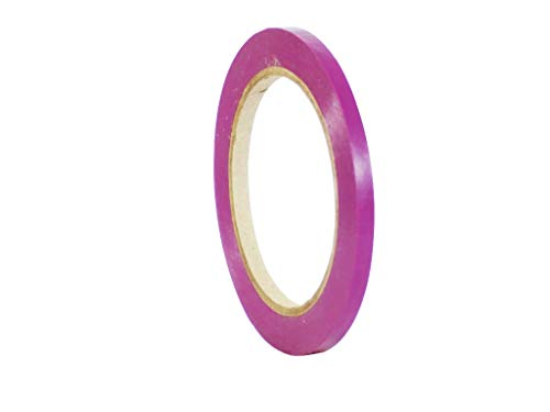 WOD VTC365 Purple Vinyl Pinstriping Tape, 1/4 inch x 36 yds. for School Gym Marking Floor, Crafting, Stripping Arcade1Up, Vehicles and More