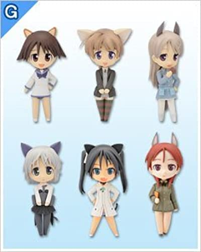 Sega Lucky Strike Witches lottery prize beans 2 G Figure Collection DX whole set of 6 (japan import)