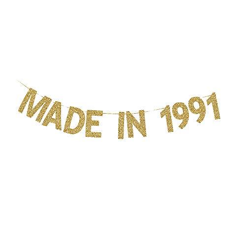 Made in 1991 Banner, Women/Men