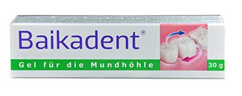 Gel, 2 x 15g, mit Baikal Helmkraut, antibakteriell, bei schlechheilenden Wunden, Entzündungen der Schleimhaut der Mundhöhle, im Zahnfleisch, Reizung durch Protesen, entzündung, wund und heilsalbe