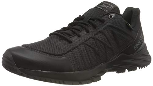 Reebok Damen Astroride GTX 2.0 Trail Running Shoe, Core Black/Core Black/Spacer Grey, 37.5 EU