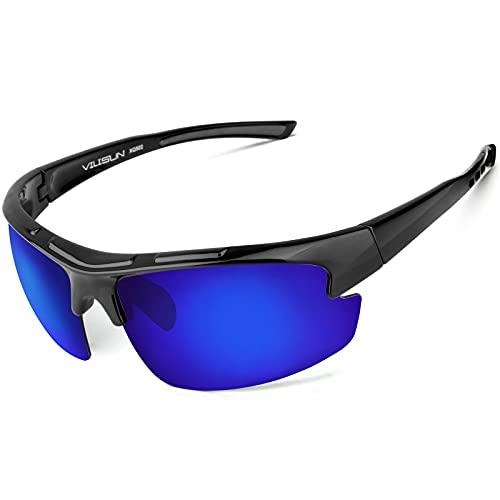 Polarized Sports Glasses Cycling Sunglasses for Men Women UV Protection Fishing Running Driving Fishing TR90