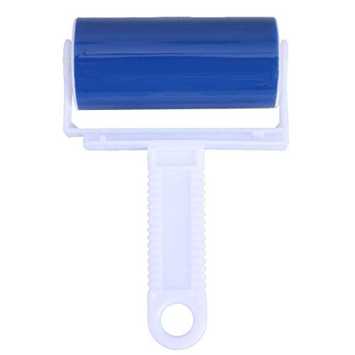 WenJ 2 Stück Waschbare Walzenreiniger Lint Sticky Picker Haustier-Haar-Kleidung Möbel Wiper-Tool-Tropfen-Schiff EWechselt Lint, Krümel, Haare, Schmutz Und Mehr (Color : Blue)