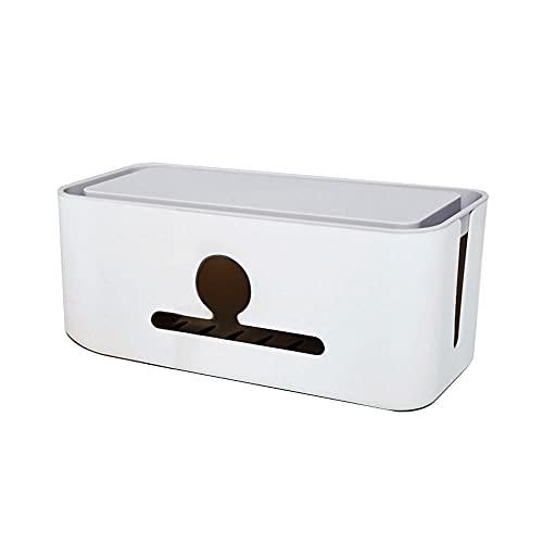 Torlia Caja Organizadora de Cables Diseño de Cajón Extraíble Duradero Tapones de...