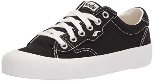 Keds Crew Kick 75 Organic, Zapatillas Mujer, Black, 42.5 EU
