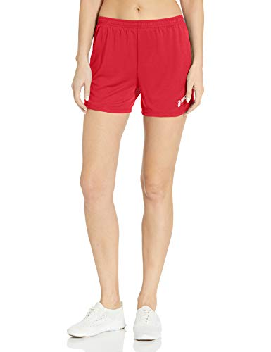 ASICS - Short Femme Rival II, Small, Red