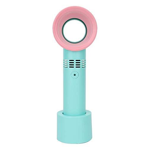 Handige ventilator, USB draagbare bladloze ventilator Wimperverlengingsventilator, verstelbare ventilator met drie snelheden, twee kleuren om uit te kiezen(#2)