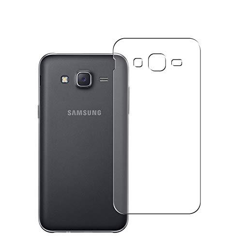 Vaxson 2 Unidades Protector de pantalla Posterior, compatible con Samsung Galaxy J5 2016 J510x J510 [No Vidrio Templado] TPU Película Protectora Espalda Skin Cover