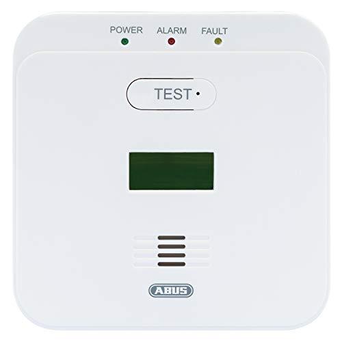 Abus 89164 COWM510 Kohlenmonoxidwarnmelder, 10 Jahre Sensor